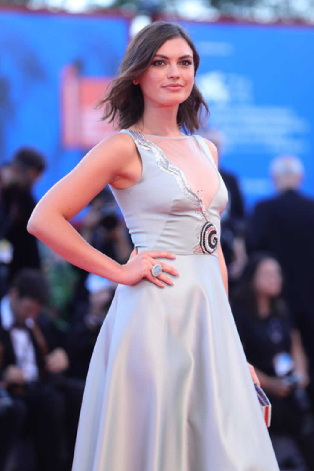 Silvia Busuioc at 74th Venice Film Festival